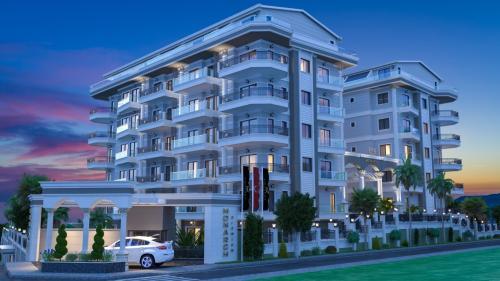 Новый проект сторящийся по концепции 5 звездочного отеля, Аланья, Каргыджак. Продажа.