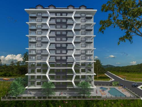 Современный жилой комплекс в Махмутларе, Аланья, Махмутлар. Продажа.