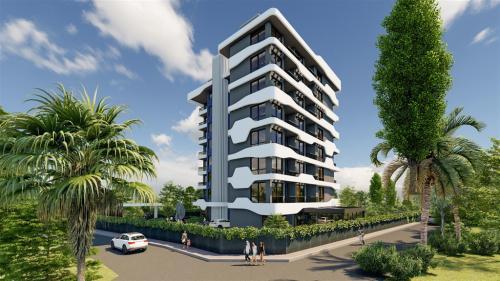Жилой комплекс на этапе строительства в районе Авсаллар, Аланья, Авсаллар. Продажа.