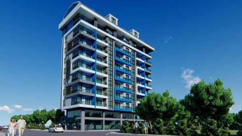 Новый жилой комплекс в Махмутлар, Аланья, Махмутлар. Продажа.