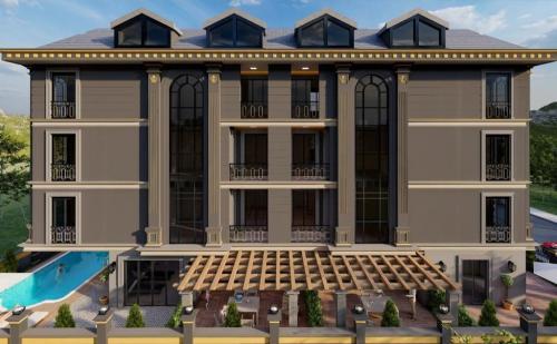 Новый жилой проект в районе Махмутлар, Аланья, Махмутлар. Продажа.