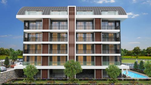 Совершенно новый жилой проект с развитой инфраструктурой, Аланья, Оба. Продажа.