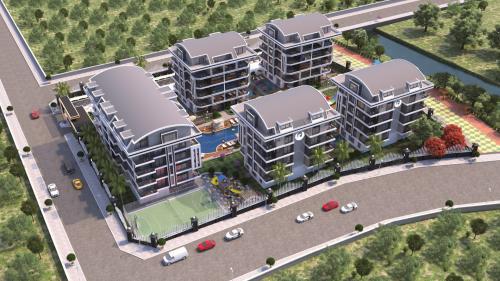 Уникальный жилой комплекс в элитном районе Оба, Аланья, Оба. Продажа.