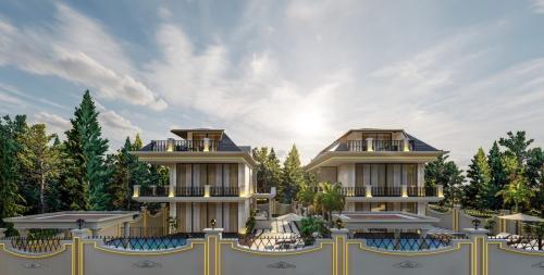 Ультра-роскошный проект виллы в районе Каргыджак, Аланья, Каргыджак. Продажа.