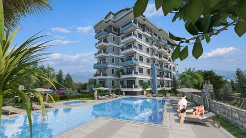 Новый жилой проект в окружении природы в  районе Демирташ, Аланья, Демирташ. Продажа.