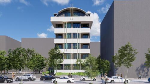Совершенно новый проект в центре Алании, Аланья, Центр. Продажа.