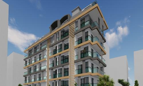 Совершенно новый жилой проект в 50 метрах от моря, Аланья, Центр. Продажа.