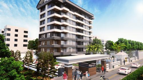 Совершенно новый жилой проект в районе Авсаллар, Аланья, Авсаллар. Продажа.