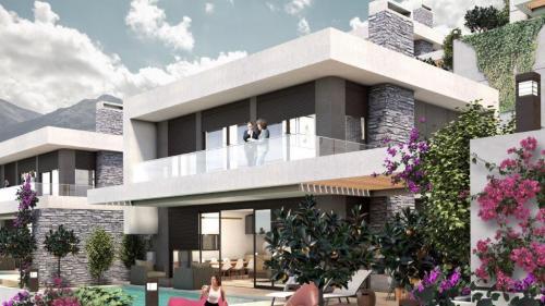 Новый проект виллы в комплексе с гостиничной инфраструктурой 5 *, Аланья, Каргыджак. Продажа.