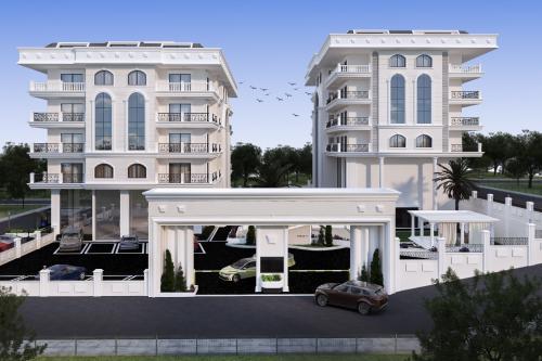 Новый жилой проект в центре Алании, Аланья, Центр. Продажа.