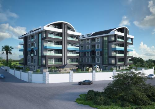Совершенно новый жилой проект с просторными квартирами, Аланья, Оба. Продажа.