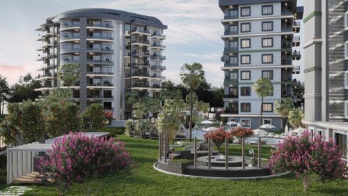 Доступный проект нового жилья, Аланья, Авсаллар. Продажа.