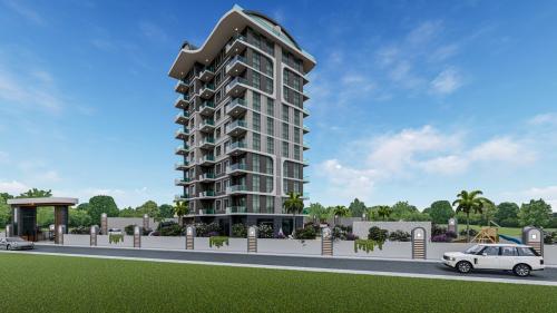Совершенно новый жилой проект, Аланья, Махмутлар. Продажа.