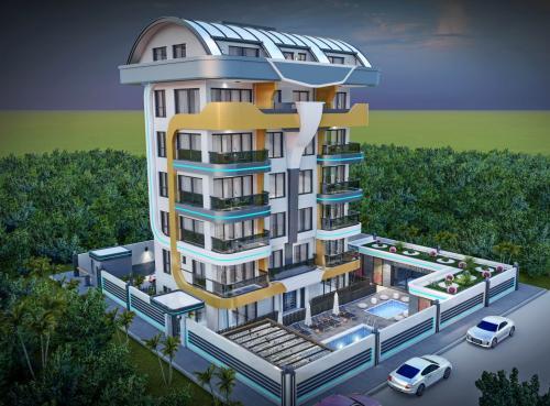 Новый комплекс в Кестеле, Аланья, Кестель. Продажа.