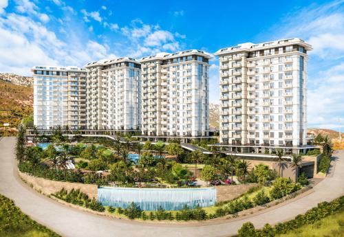 Новый жилой проект с гостиничной инфраструктурой 5 *, Аланья, Махмутлар. Продажа.