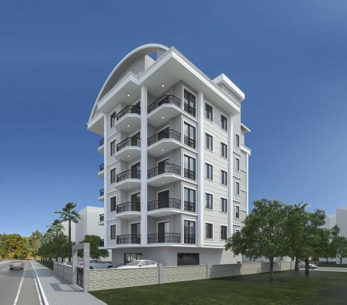 Новый жилой проект в Махмутларе, Аланья, Махмутлар. Продажа.