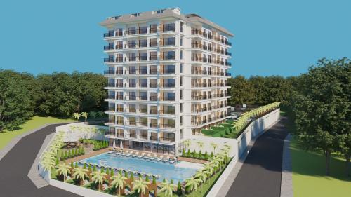 Новый жилой проект в районе Авсаллар, Аланья, Авсаллар. Продажа.