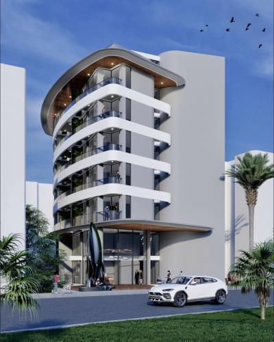 Новейший проект в районе пляжа Клеопатры, Аланья, Клеопатра. Продажа.